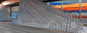 Povrchové úpravy oplocení - žárové zinkování
