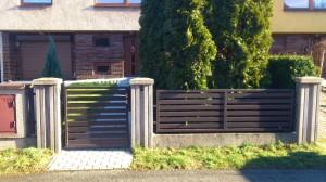 Branka a plotové pole s výplní 10.105